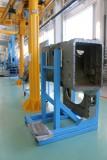 Подставка передней крышки дизельного двигателя