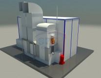 Малярно-сушильная камера для нефтяного оборудования SPK-7.3.3