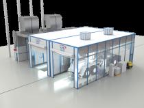 Комплекс оборудования для мойки и окраски автотранспорта