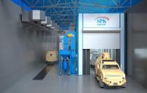 Зона открытой окраски для бронированных машин SPK-Z 36.7