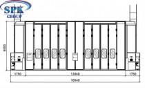 Модернизация проходной окрасочно-сушильной камеры для вагонов SPK-25.13.6